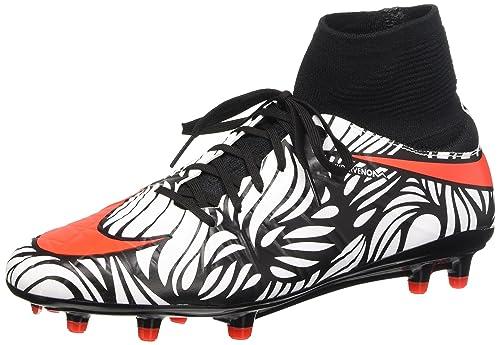 61b564b7277b Nike Men s Hypervenom Phatal Ii Df NJR Fg Football Boots  Amazon.co ...