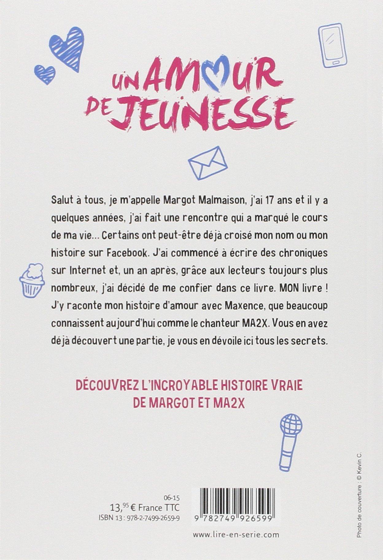 Amazon Fr Un Amour De Jeunesse Margot Malmaison Livres