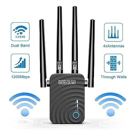 Amazon.com: MSRM US302 - Extensor de alcance Wi-Fi (300 Mbps ...
