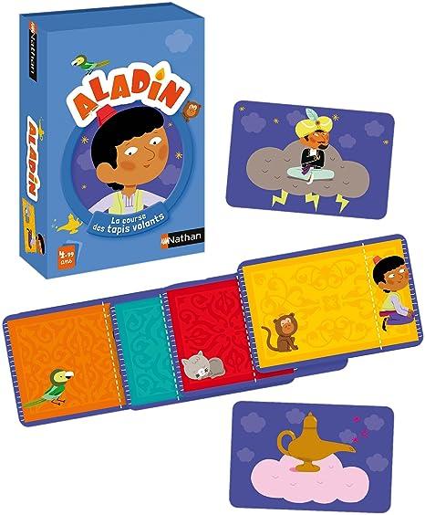 Nathan 31494 Jeu De Cartes Aladin Amazon Fr Jeux Et Jouets