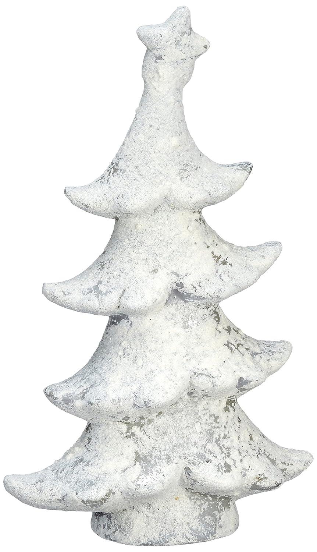 Decoris 633389 Terracotta Baum Eisfinish