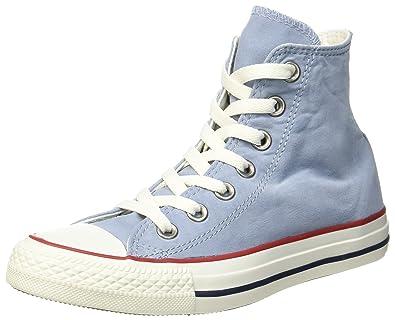 baf02492ae5f Converse Unisex-Erwachsene CTAS HI Blue Slate Garnet White Hohe Sneaker,  Mehrfarbig