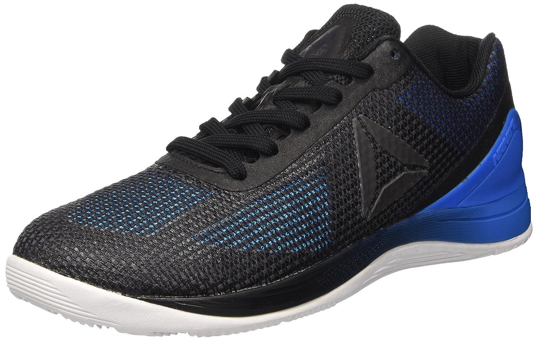 Reebok Herren R Crossfit Nano 7.0 Sneaker, Schwarz/Weiszlig;, XXL  39 EU|Blau (Blue Beam / Horizon Blue / Black / White / Lead)