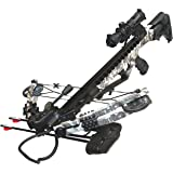 PSE ARCHERY Fang HD Crossbow Package- Up to 405 FPS- 5 Bolt Quiver- Adjustable Buttstock- w Dual String Stops