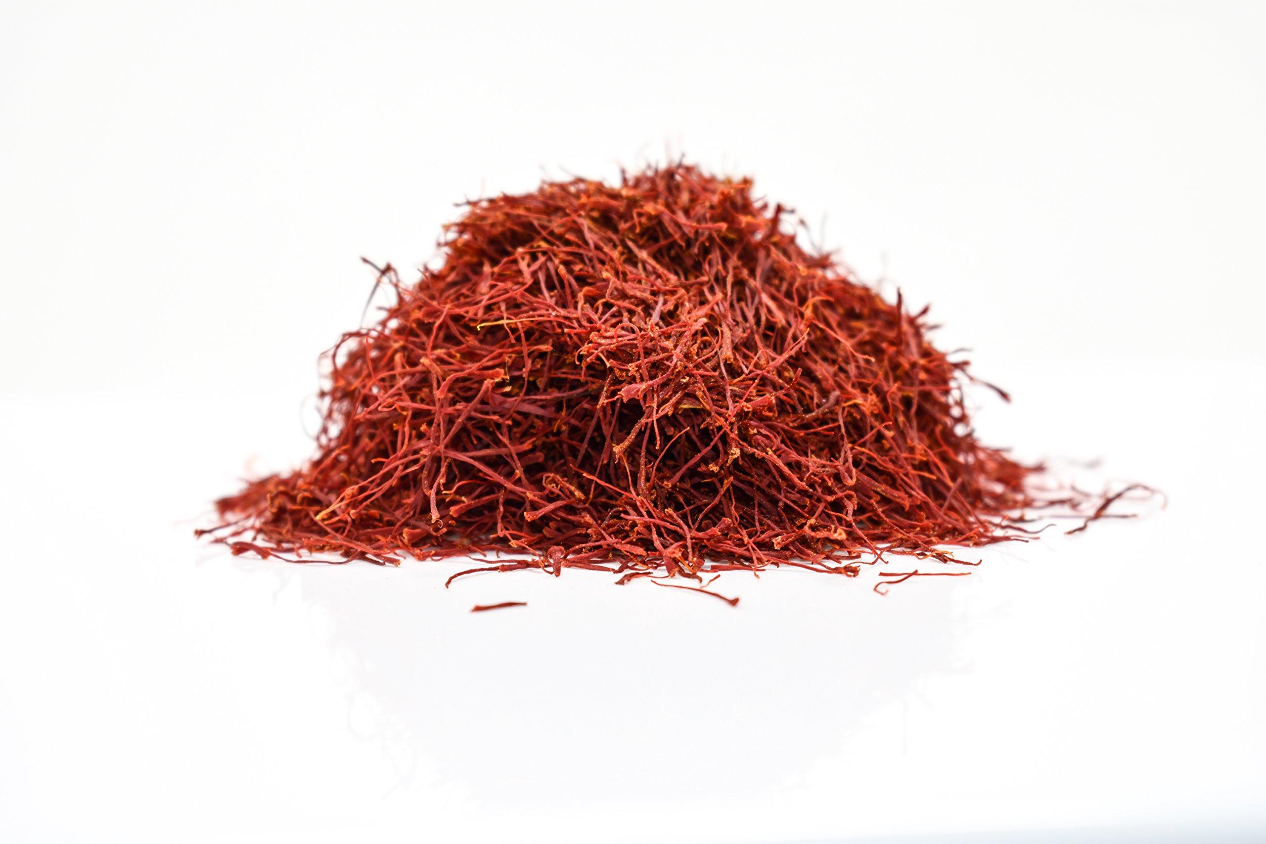 Persian Saffron Threads by Slofoodgroup Premium Quality Saffron Threads, All Red Saffron Filaments (various sizes) Grade I Saffron ( .25 Ounce Saffron) by Slofoodgroup (Image #8)