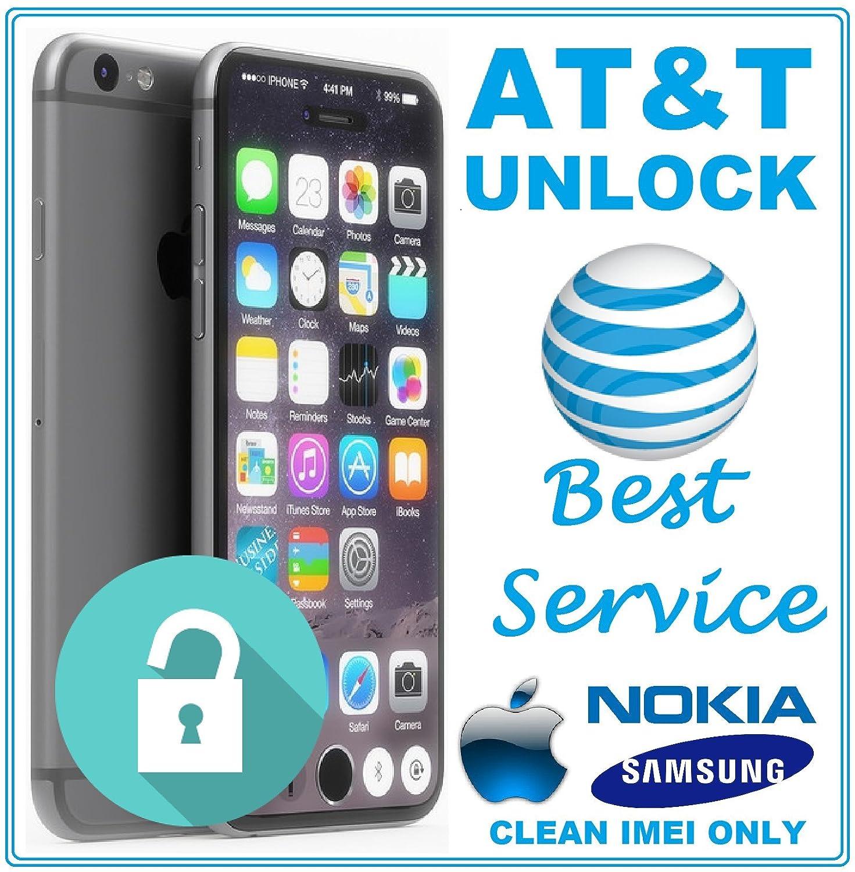 Amazon com : AT&T Factory Unlock Code Service for LG Samsung Nokia