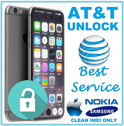 Amazon com : AT&T Factory Unlock Code Service for LG Samsung Nokia