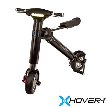 Review Hover-1 XLS E-Bike Folding Electric Scooter with LED Displays
