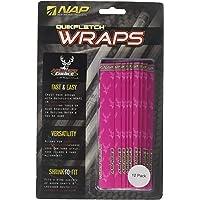 Quikfletch Wrap – Archers Choice Rosa (12 Unidades)