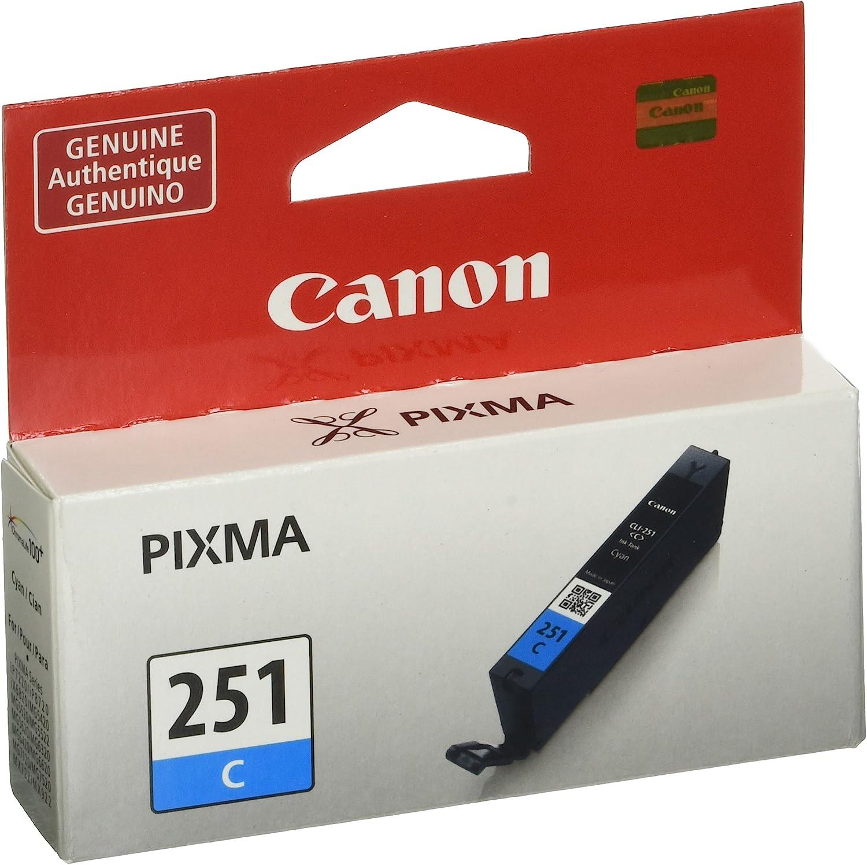 Canon CLI-251 Cyan Ink Tank Compatible to MG6320 , IP7220 & MG5420, MX922, MG5520, MG6420, MG7120, iX6820, iP8720, MG7520, MG6620, MG5620