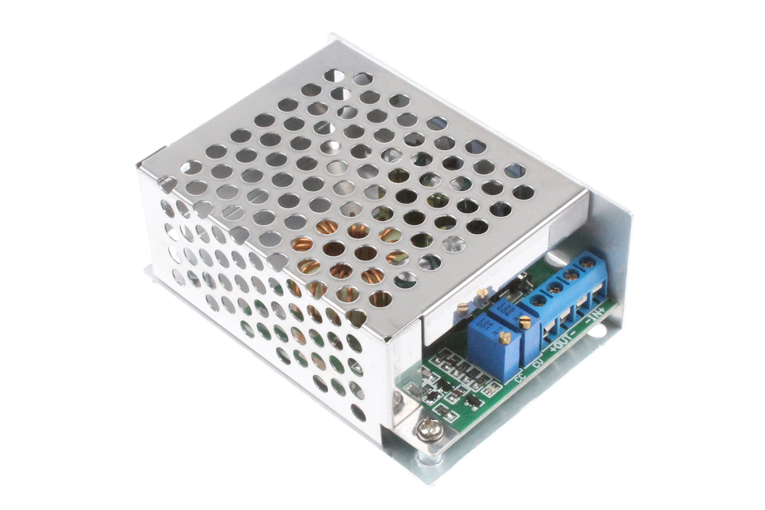 DC-DC Adjustable Buck Power Supply Module CC CV 7-30V to 1.2-29V 9A 300W Max Charge Module Suitable for high power LED driver, Battery Charging, Power Supply