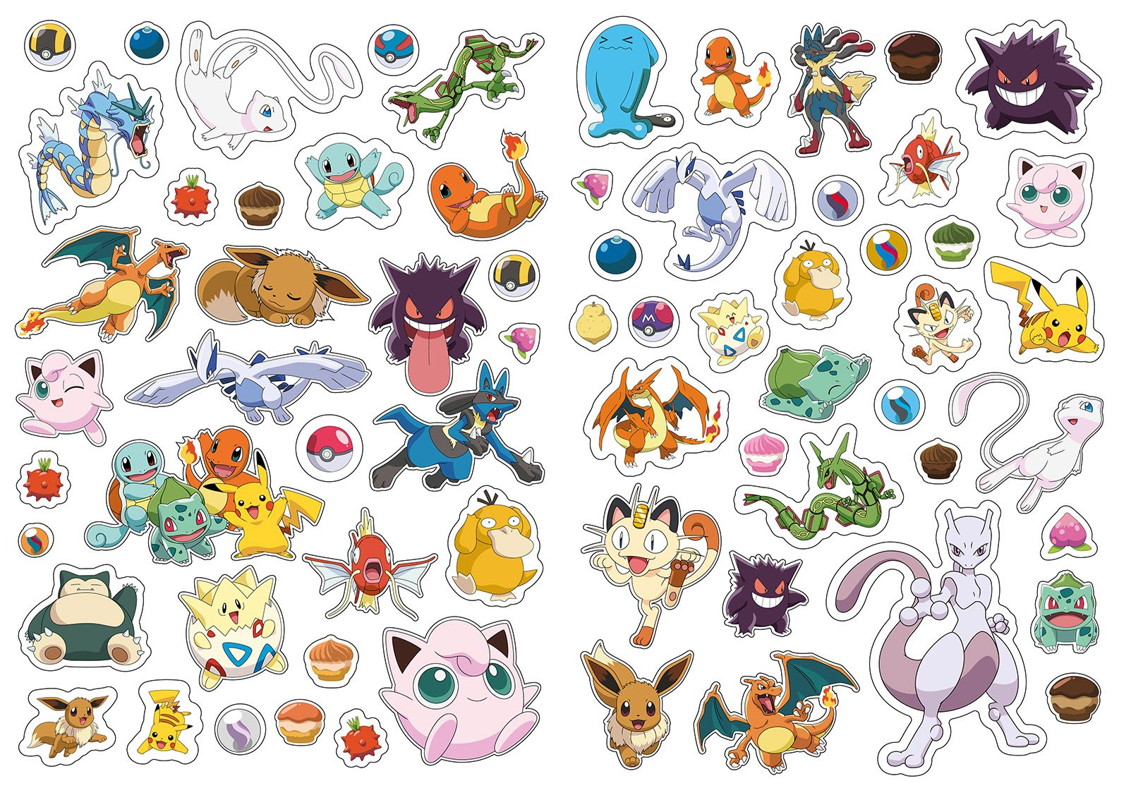 Stickers Pokemon.The Official Pokemon Legendary 1001 Stickers Amazon Co Uk