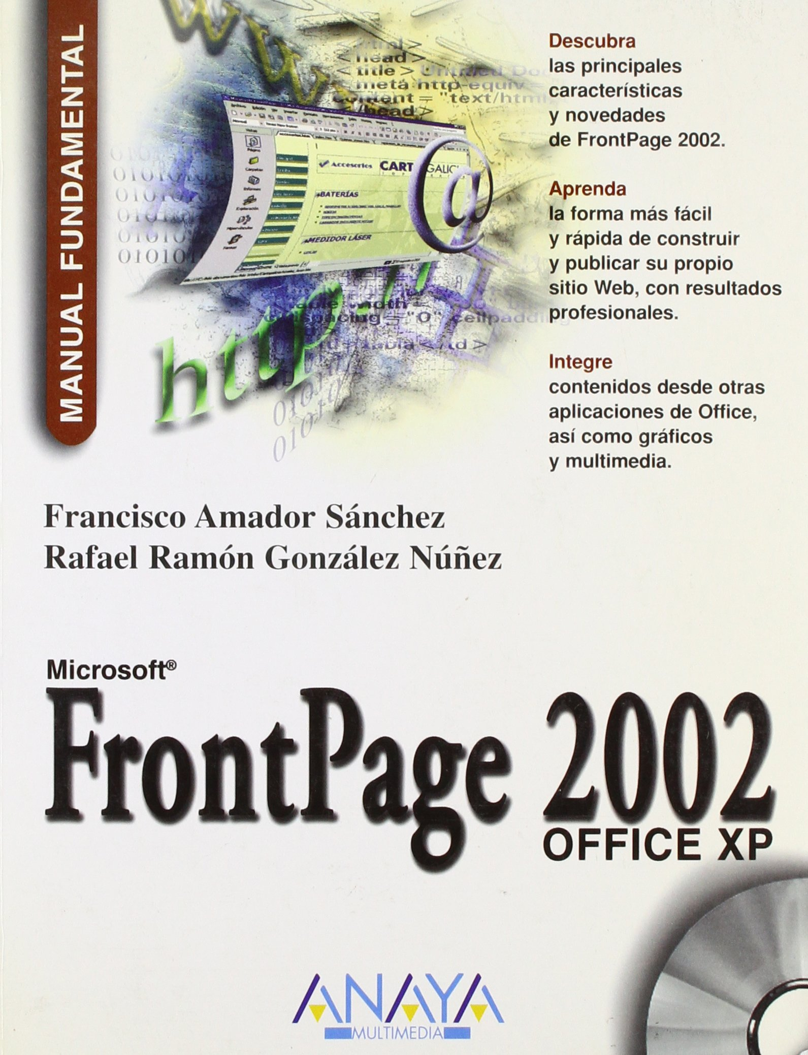 Download Microsoft FrontPage 2002 Office XP - Manual Fundamenmtal (Spanish Edition) ebook
