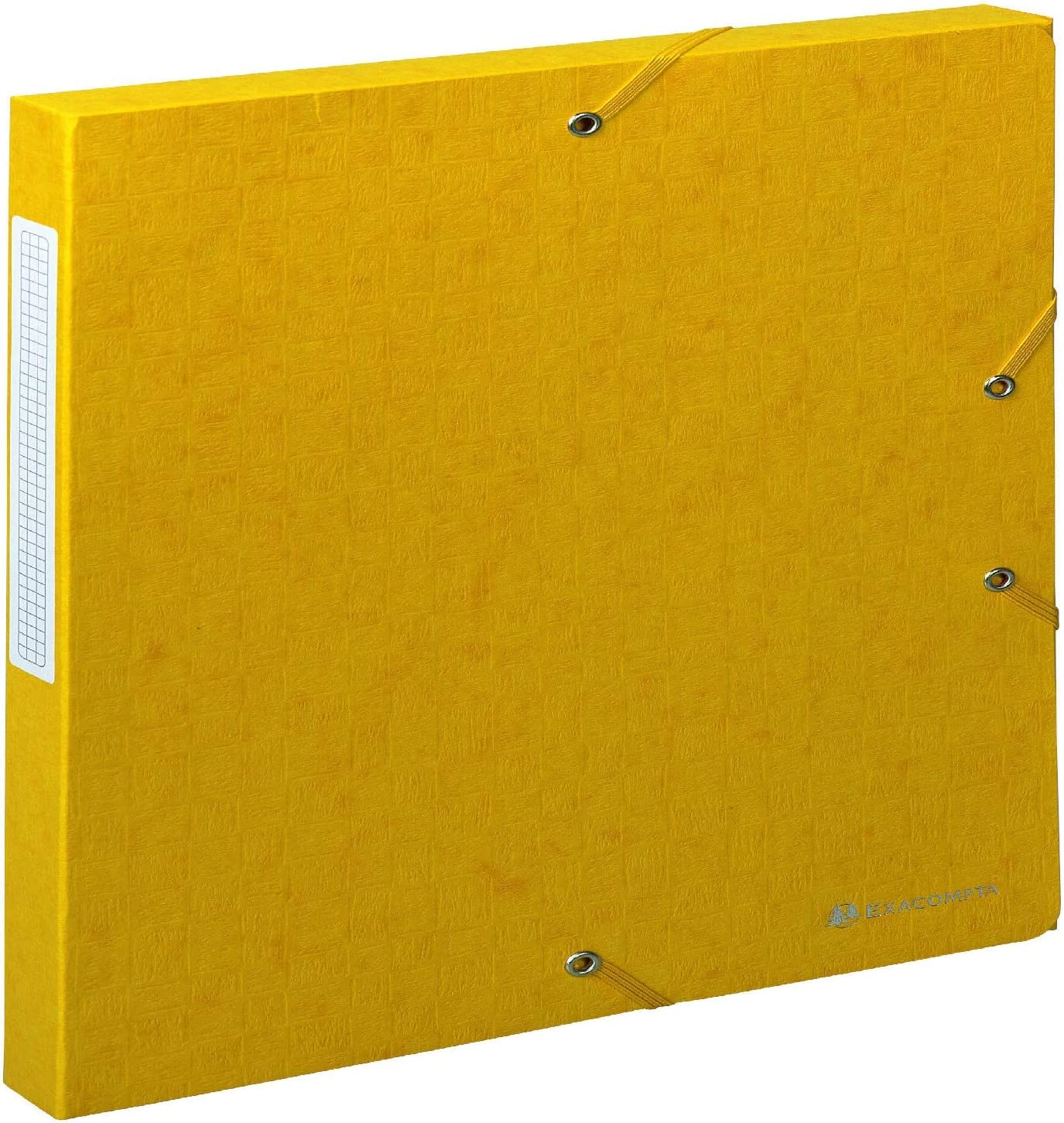 Manila-Karton, R/ückenetikett, R/ücken 25 mm, 600 g, DIN A4 Exacompta 50701E Archivbox 1 St/ück schwarz