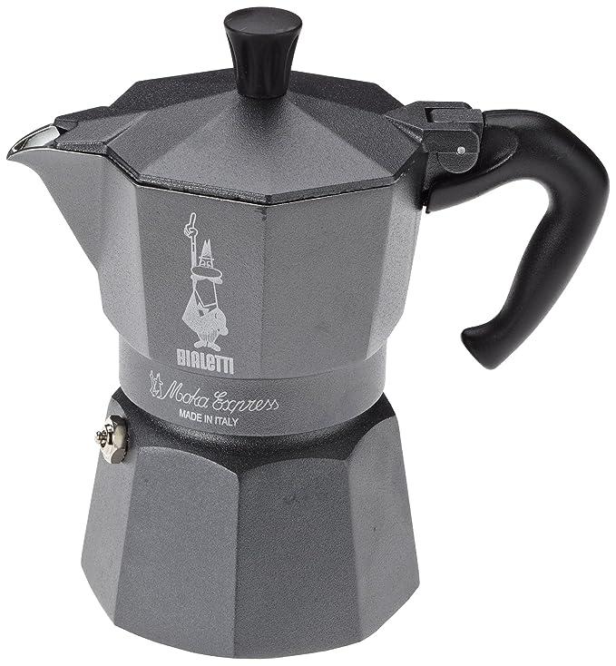 Bialetti Moka Express - Cafetera espresso para 3 tazas, color ...