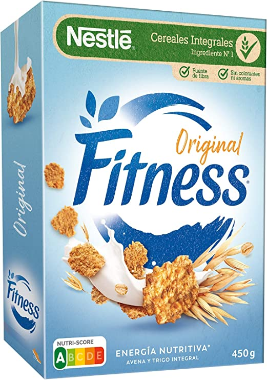 Cereales Nestlé Fitness Original - 1 paquete de 450 g