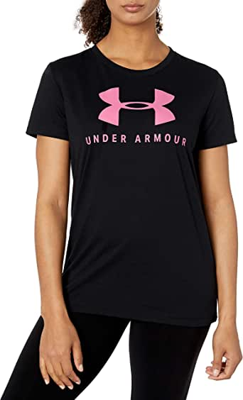 Under Armour Women's Graphic Sportstyle Clashort Sleeveic Crew Top