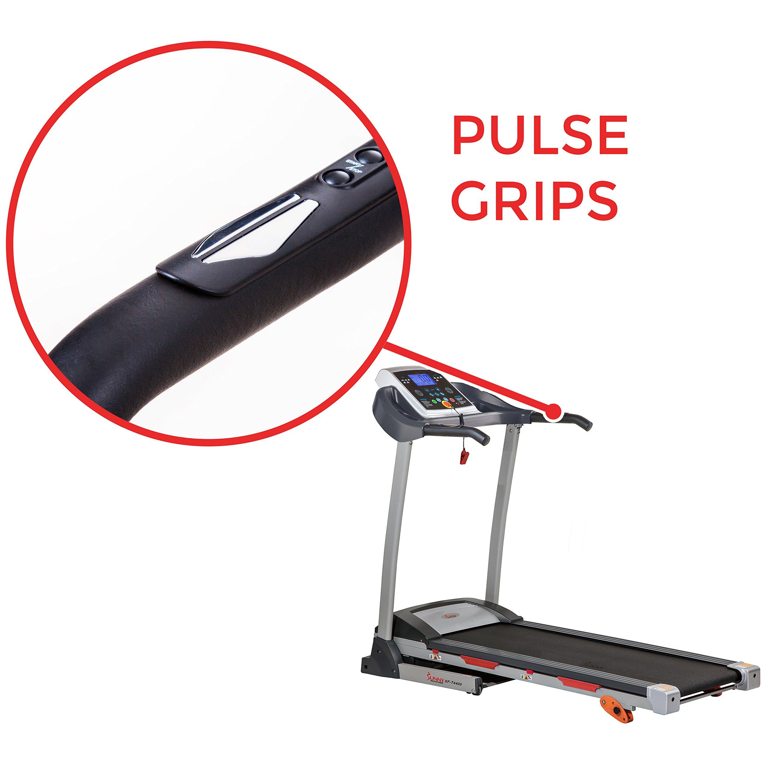 Sunny Health & Fitness Treadmill Folding Motorized Running Machine by Sunny Health & Fitness (Image #4)