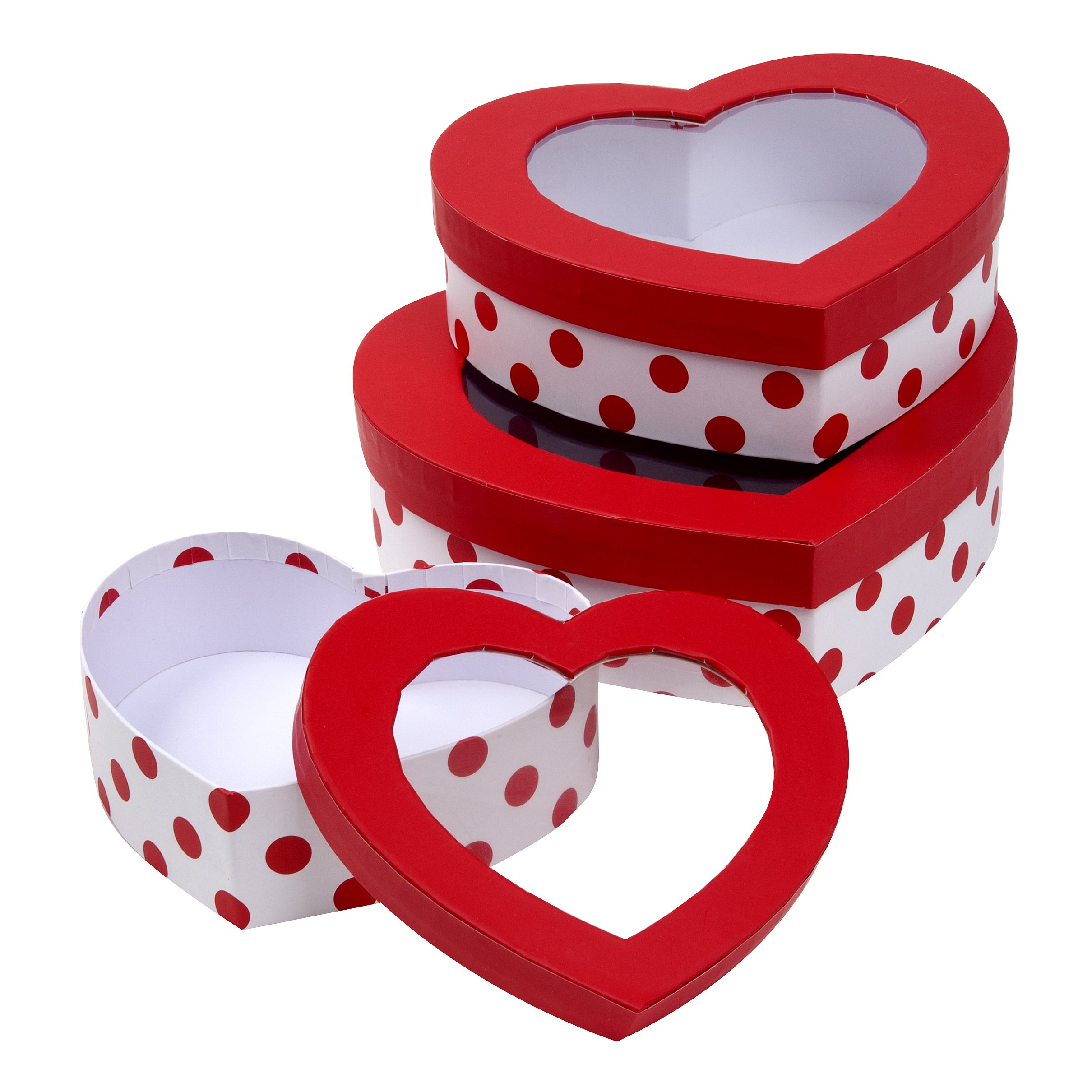 heart shaped treat boxes valentines day gift box for cookies cupcakes set of 3