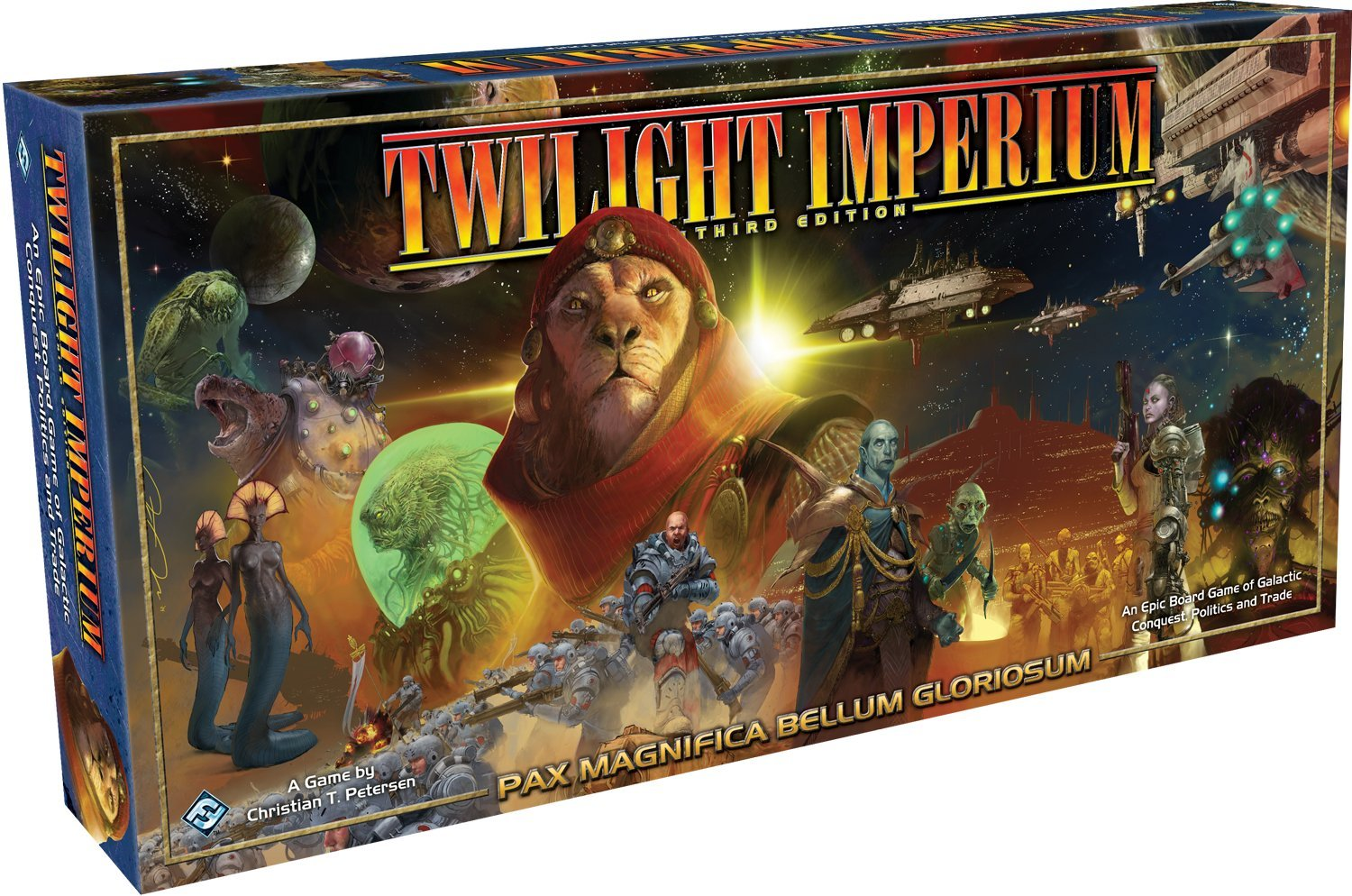 Role Playing /& Fantasy Games//Puzzles General Games /& Activities Fantasy Flight Games Twilight Imperium 3rd Edition FFGTI03 Board Games Role Playing /& Fantasy Comics /& Graphic Novels Board Games Games /& Activities