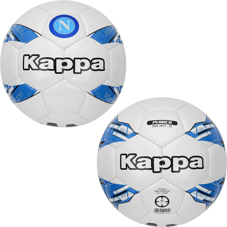 SSC Napoli Balón de jugador del Napoli, blanco - azul, 5: Amazon ...