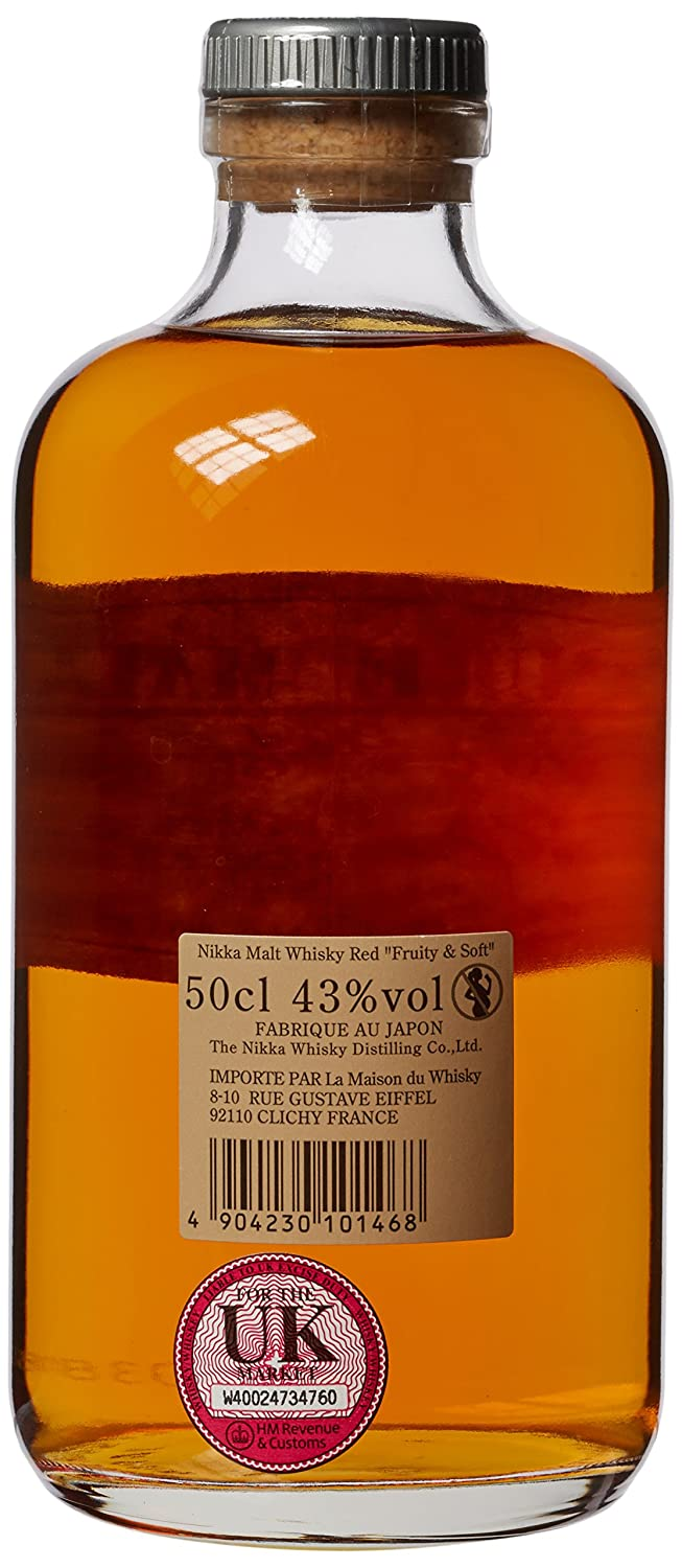 Amazon.com: Nikka Red Label 50 cl: Grocery & Gourmet Food