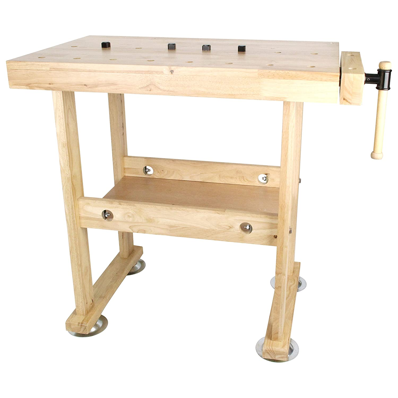 SK11 木製作業台 木工バイス付 WKB-800