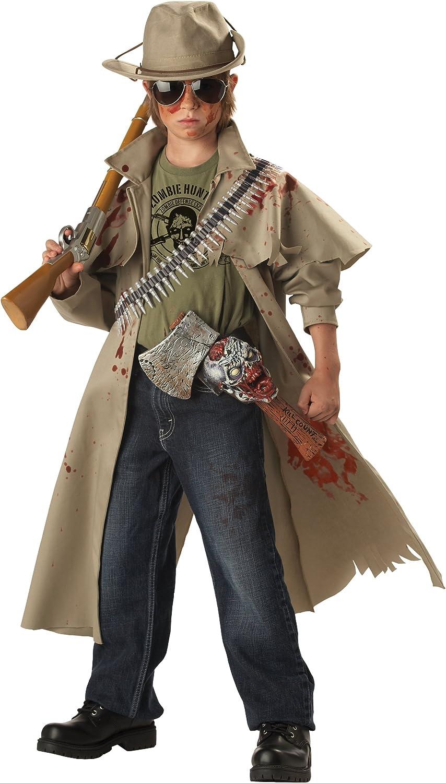 Disfraz de cazador de zombies para niño: Amazon.es: Juguetes y juegos