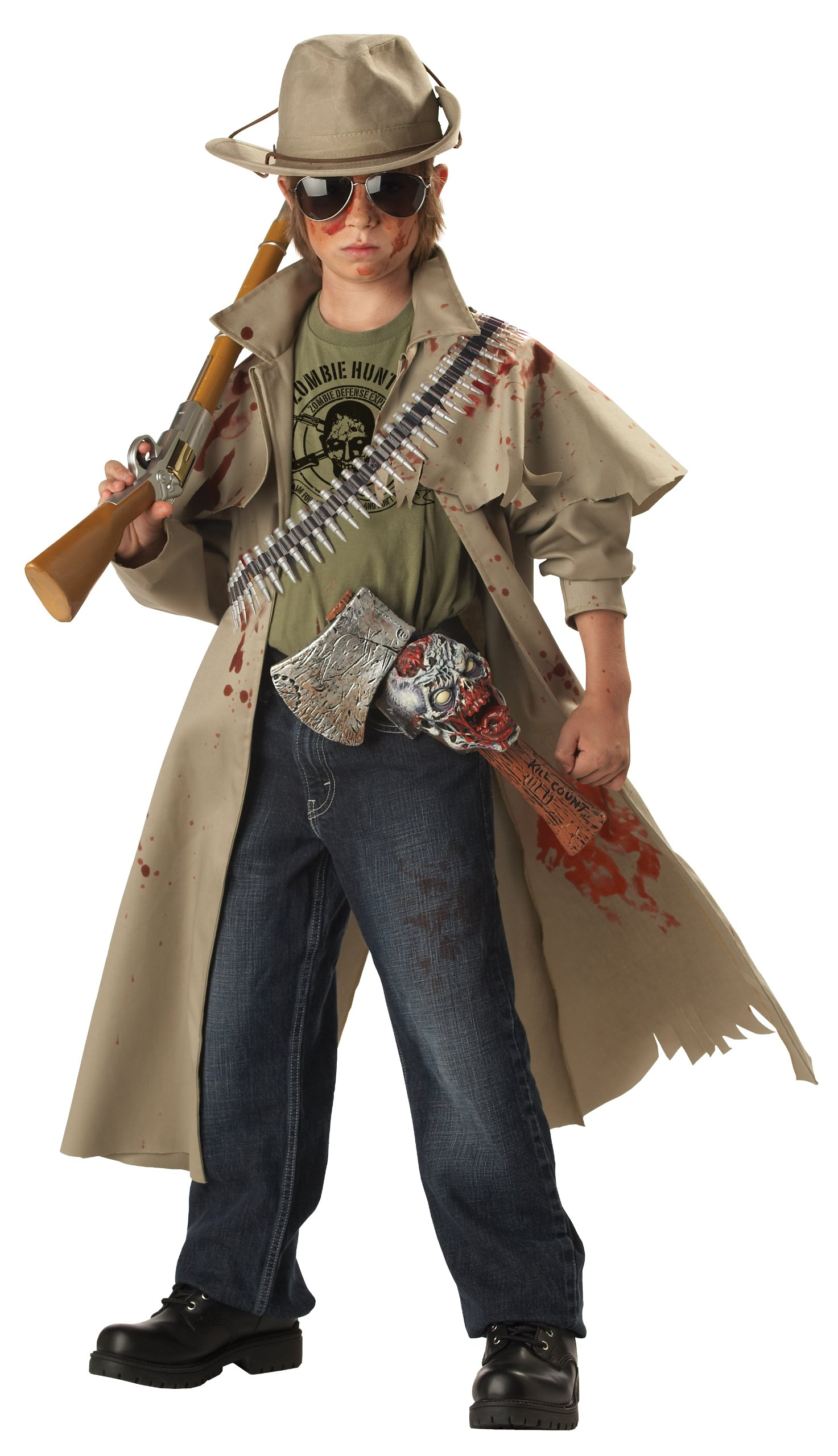 California Costumes Toys Zombie Hunter, Tan, Medium