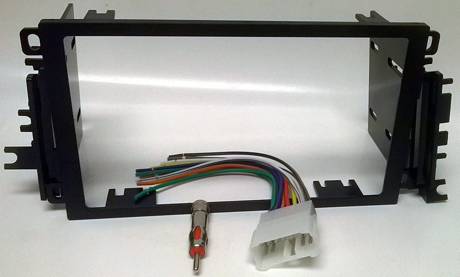 Radio Dash Kit Wire Harness And Antenna Adapter For Double Din Wiring Installing A New Into Suzuki Vitara 1999 2004 Grand