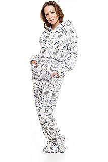 de5c08cddd Kajamaz Dog Pawz Adult All in One Pyjamas  Amazon.co.uk  Clothing