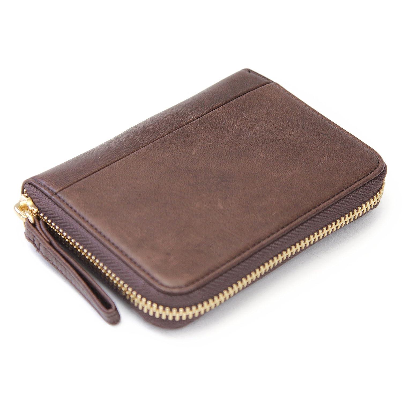 (ポーター) PORTER 吉田カバン ワイズ 財布 341-01319 二つ折り財布 ラウンドファスナー B0147T55IG ブラウン(60) ブラウン(60) -