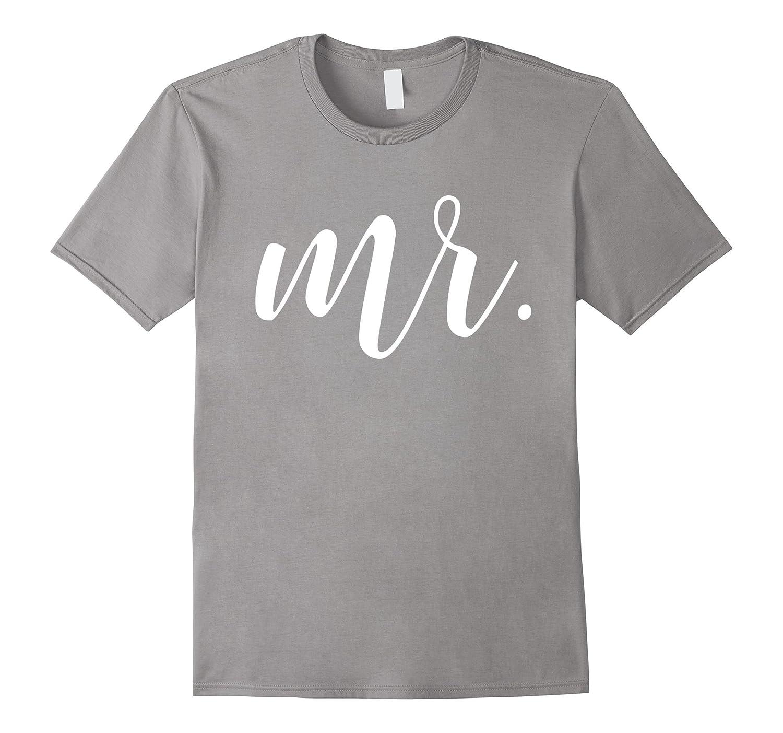 Mens Mr Tshirt Tee Shirt Mrs Tshirt Set Just Married-RT