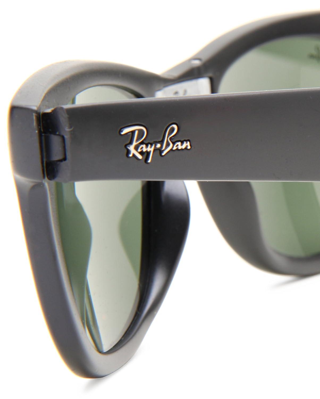 Amazon.com: Ray-Ban Folding Wayfarer 601S Wayfarer Sunglasses,Matte ...