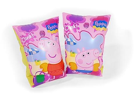 Peppa Pig - Manguitos hinchables (Saica Toys 9110)