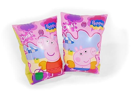 Peppa Pig - Manguitos hinchables (Saica Toys 9110): Amazon.es: Juguetes y juegos