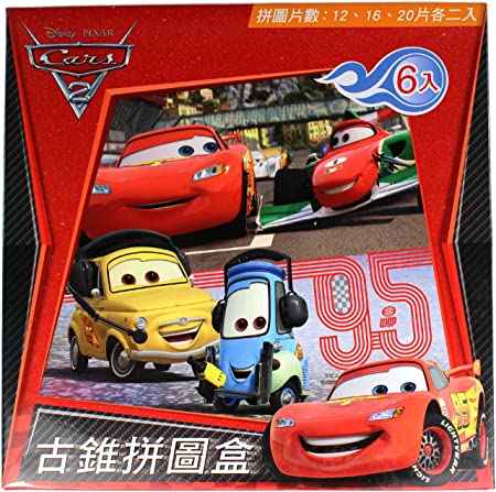 Disney Cars Puzzle 6 Pack - 6 Pack Cars Aventura sobre Las Ruedas ...