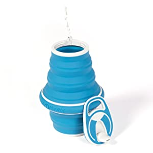 HYDAWAY<strong> 21-ounce Collapsible Pocket-sized Travel Water Bottle</strong>