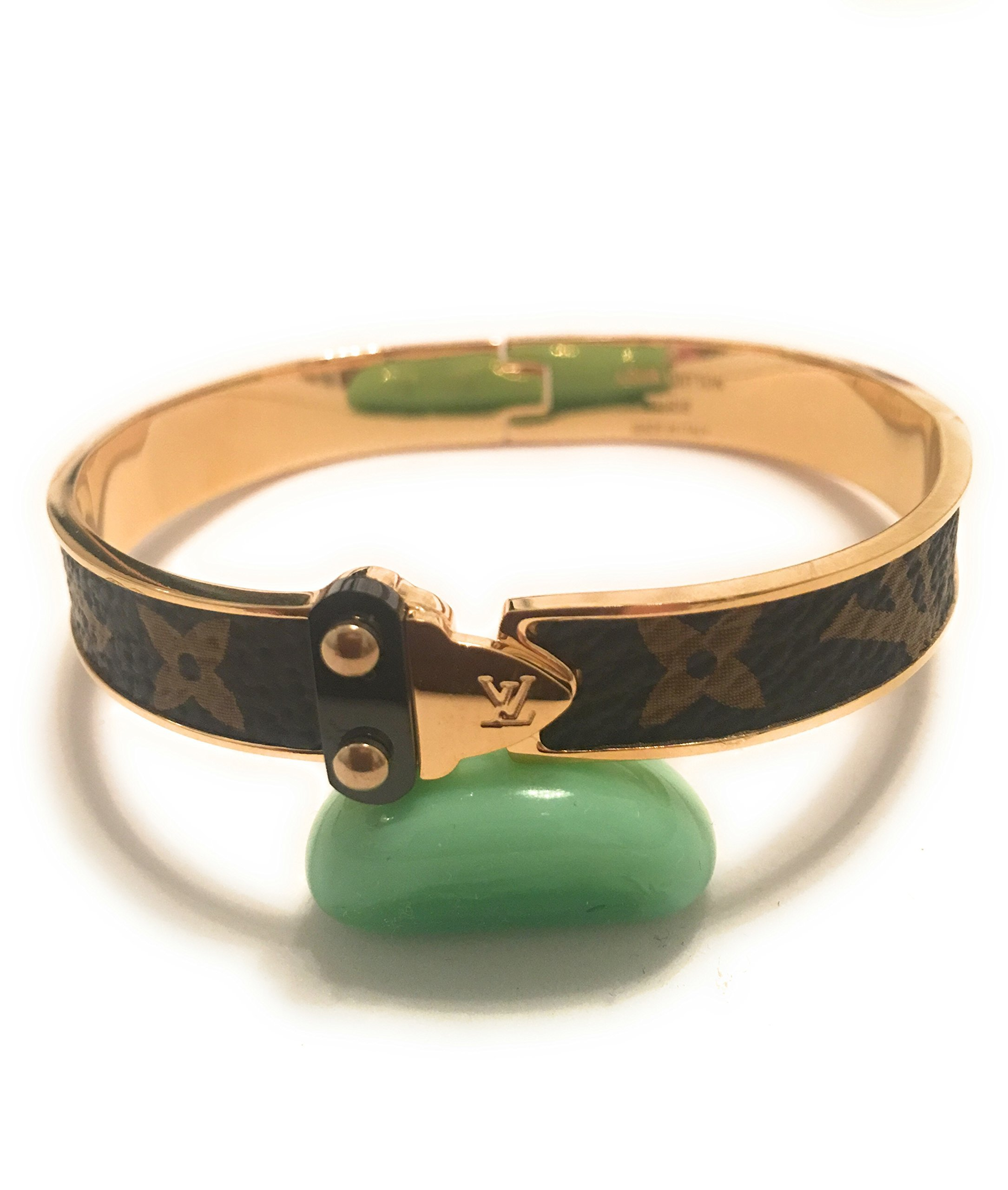 KC luxury Woman Monogram Luxury Cuff Gold Bracelets Gold Bangle Bracelet