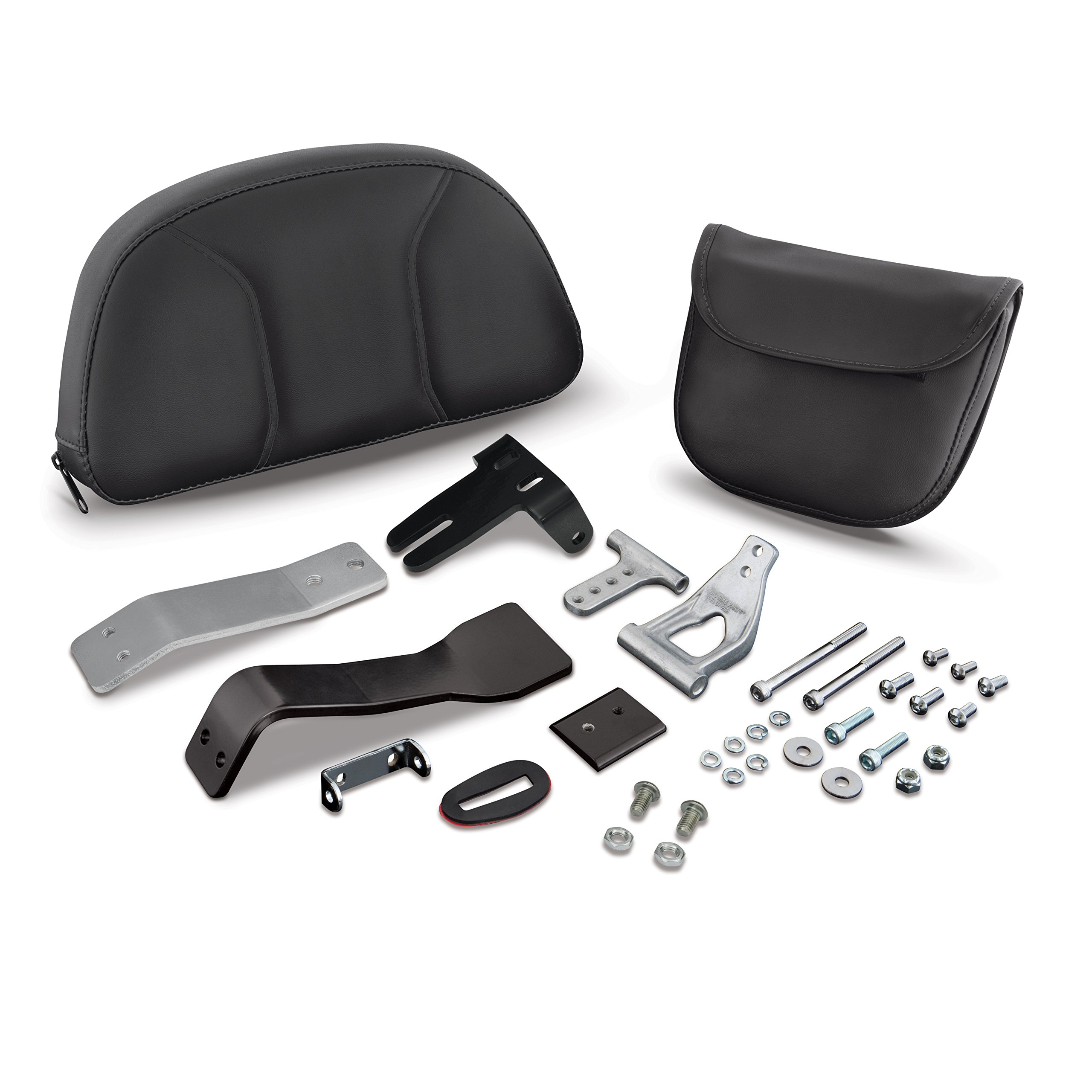 Show Chrome Accessories 41-168A Removable Smart Mount Backrest (Can Am Spyder RT)
