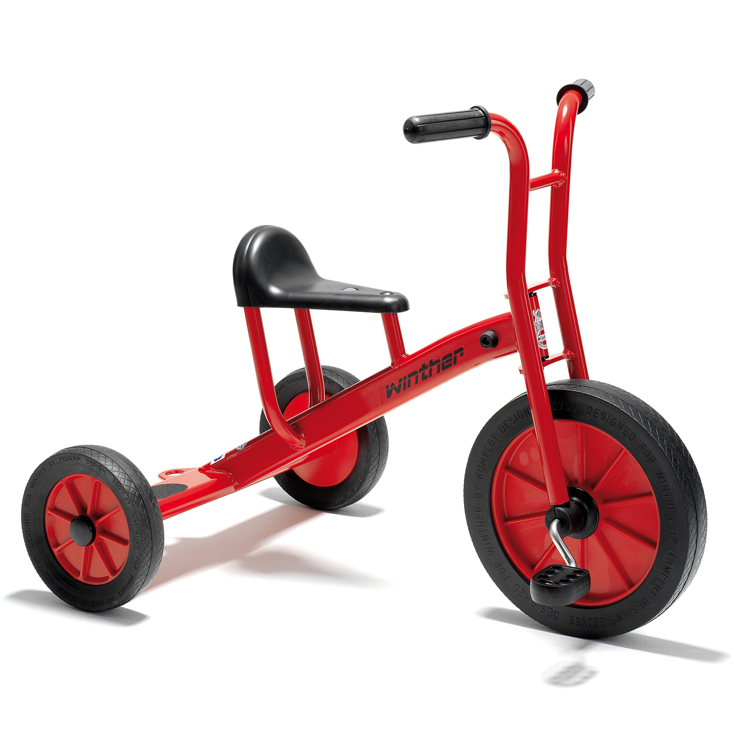 Winther WIN452 27-1/2'' Viking Tricycle, Large Grade Kindergarten to 1, 18.98'' Height, 23.19'' Wide, 28.5'' Length