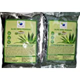 QYKKARE Organic Aloe Vera Powder (100 g Each) -Pack of 2