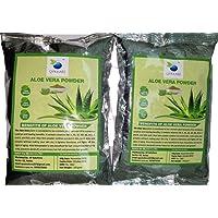 QYKKARE Premium & Organic Aloe Vera Powder 100gm X 2 = 200 gm