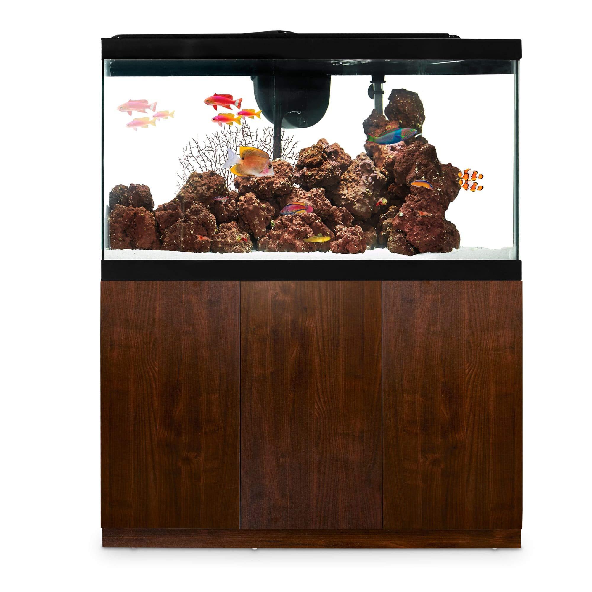 Imagitarium Faux Woodgrain Fish Tank Stand, Up to 55 Gal.