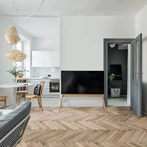 Vogel s Next OP2 Scandinavian Design TV floorstand for 55 – 77 inch TV s, VESA max. 400×400 mm, max. 50kg