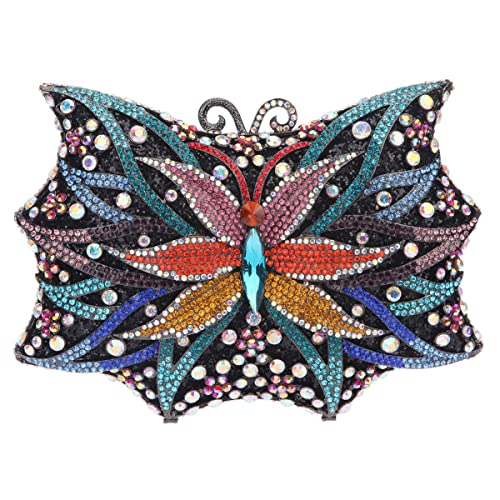 Amazon.com: fawziya mariposa Bling bolsos para mujer noche ...