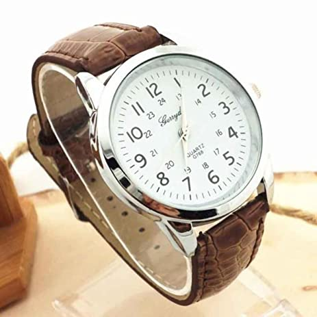 2017 mens fashion watches relojes hombre Elegant Analog Luxury geneva watches men PU Leather Strap Quartz