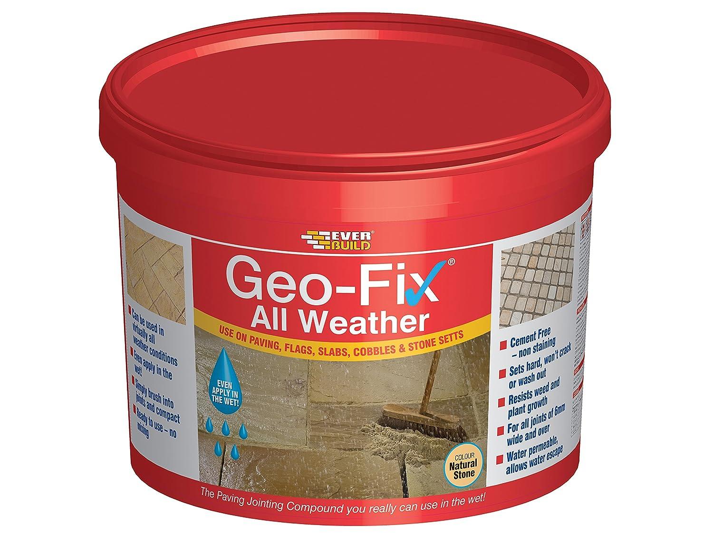 Everbuild Geo-Fix All Weather, 14kg, Grey EVBGEOWET14GY