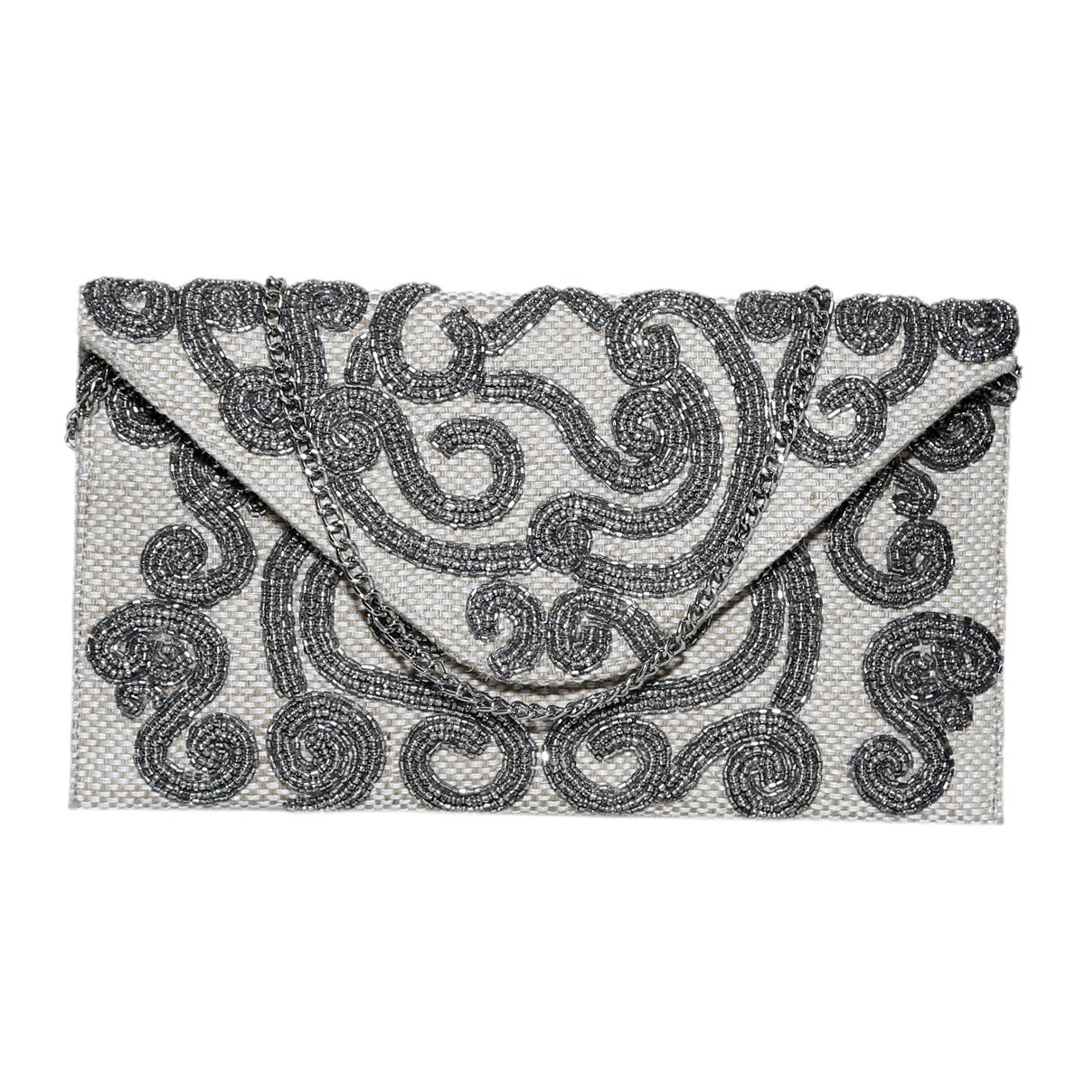 Diwaah Womens Envelope Clutch Evening Handbag For Cocktail/Wedding/Party