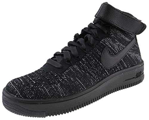 Image Unavailable. Image not available for. Color  NIKE Womens AF1 Air  Force 1 Flyknit Hi Top Trainers ... db2bb1f08627